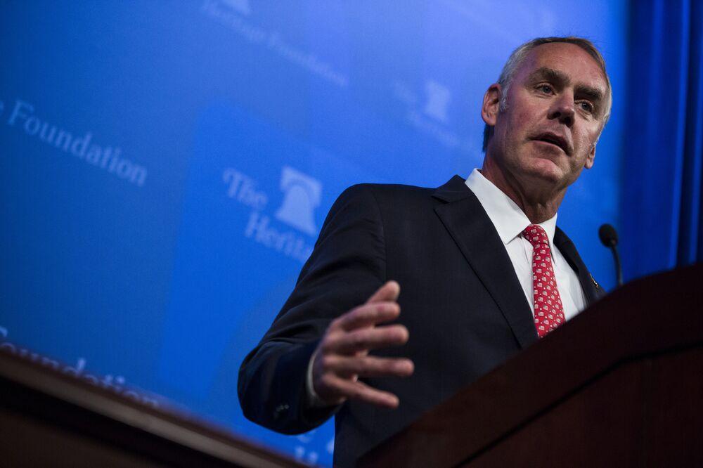 Trump's Former Interior Secretary Joins Board of Gold Miner
