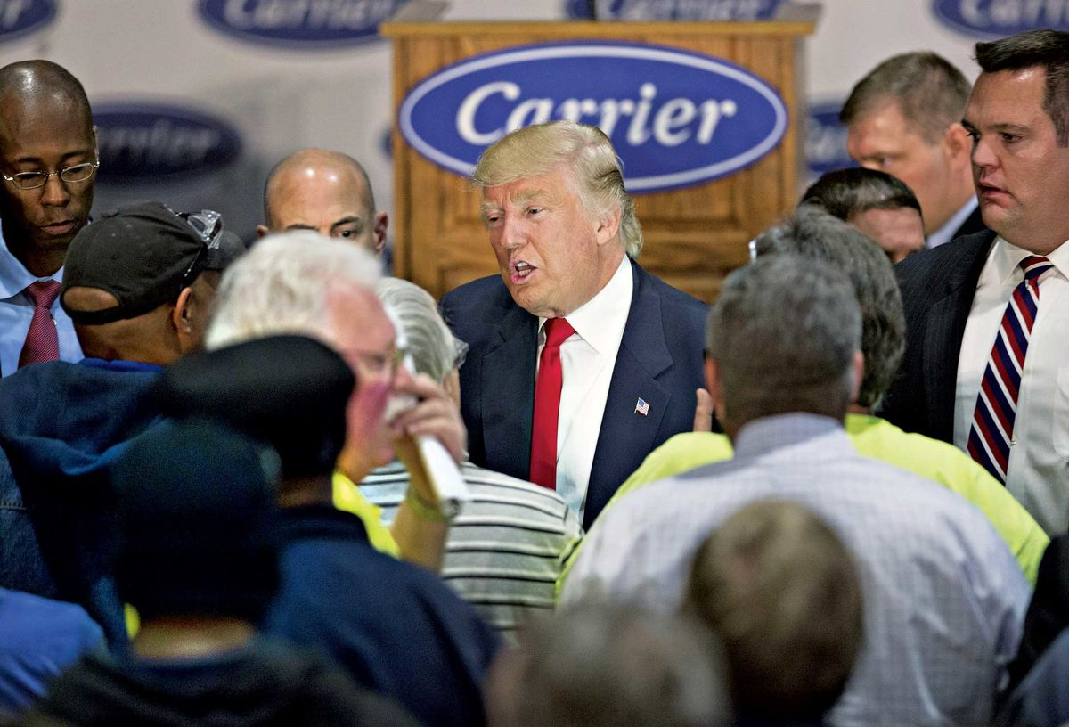 Remember When Trump Said He Saved 1100 Jobs At A Carrier Plant Circuit Board Payne Bryant We Can On Dec 1 His Deal 730 For Now