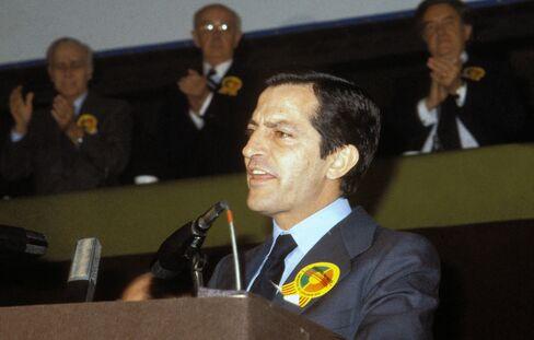 Spain's Former Prime Minister Adolfo Suarez Gonzalez