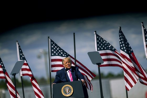 Trump Again Shadowed by Coronavirus as He Enters Final Swing
