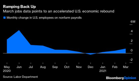 One Million U.S. Jobs Heralds New Economic Era