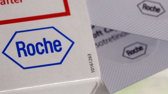 Roche Chief Says Covid Test Growth to Abate in Second Half