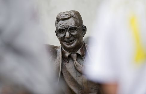 Penn State Sanctions to Come After Paterno Statue Removed