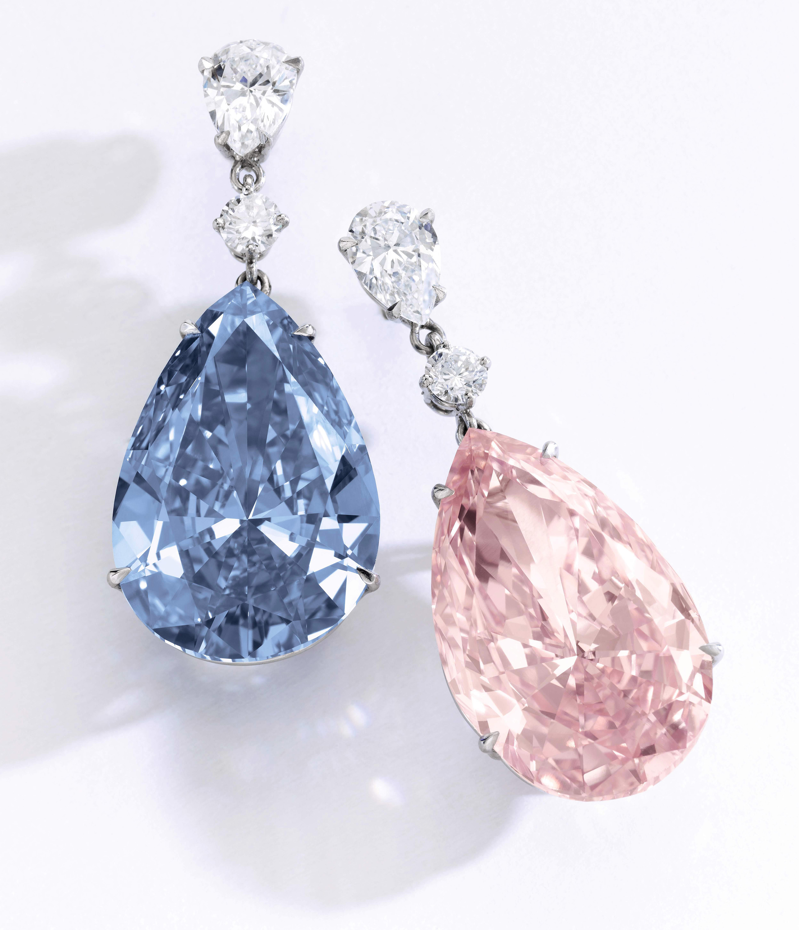 artemis apollo business blue pink at million and fetch most earrings diamond sotheby s world expensive oppenheimer