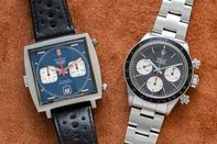 relates to Steve McQueen's Monaco vs. Paul Newman's Rolex in Double-Header Auction