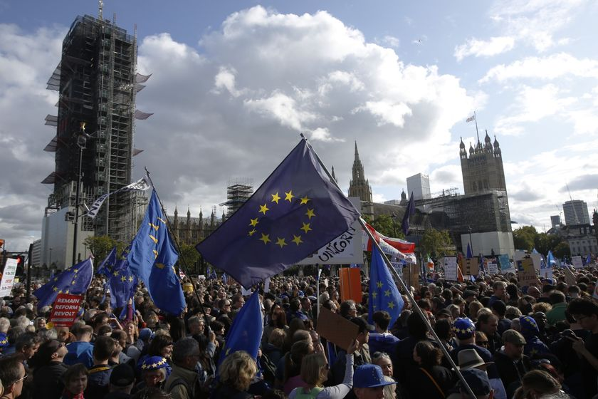 U.K. Lawmakers Vote U.K. PM Johnson's Brexit Deal