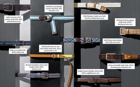 Spiffy New Belts to Upgrade Your Workplace Look