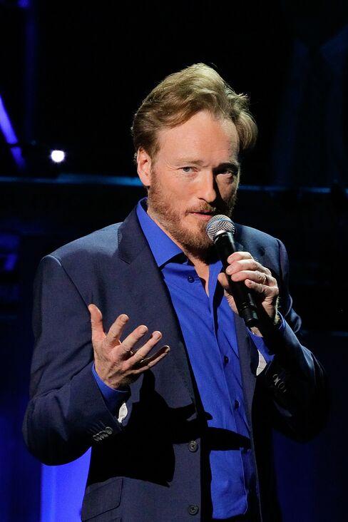 Comedian Conan O'Brien
