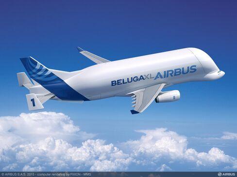 An Airbus Beluga XL