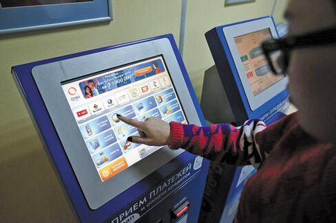 Russia's Web Payment Czar Looks West