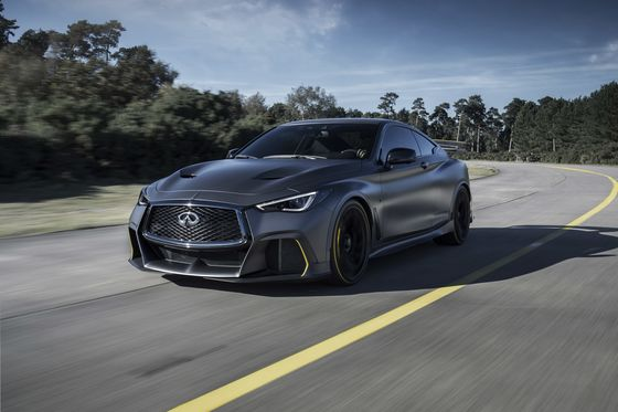 Infiniti Debuts Project Black S Hybrid, Inspired by Formula One Racers