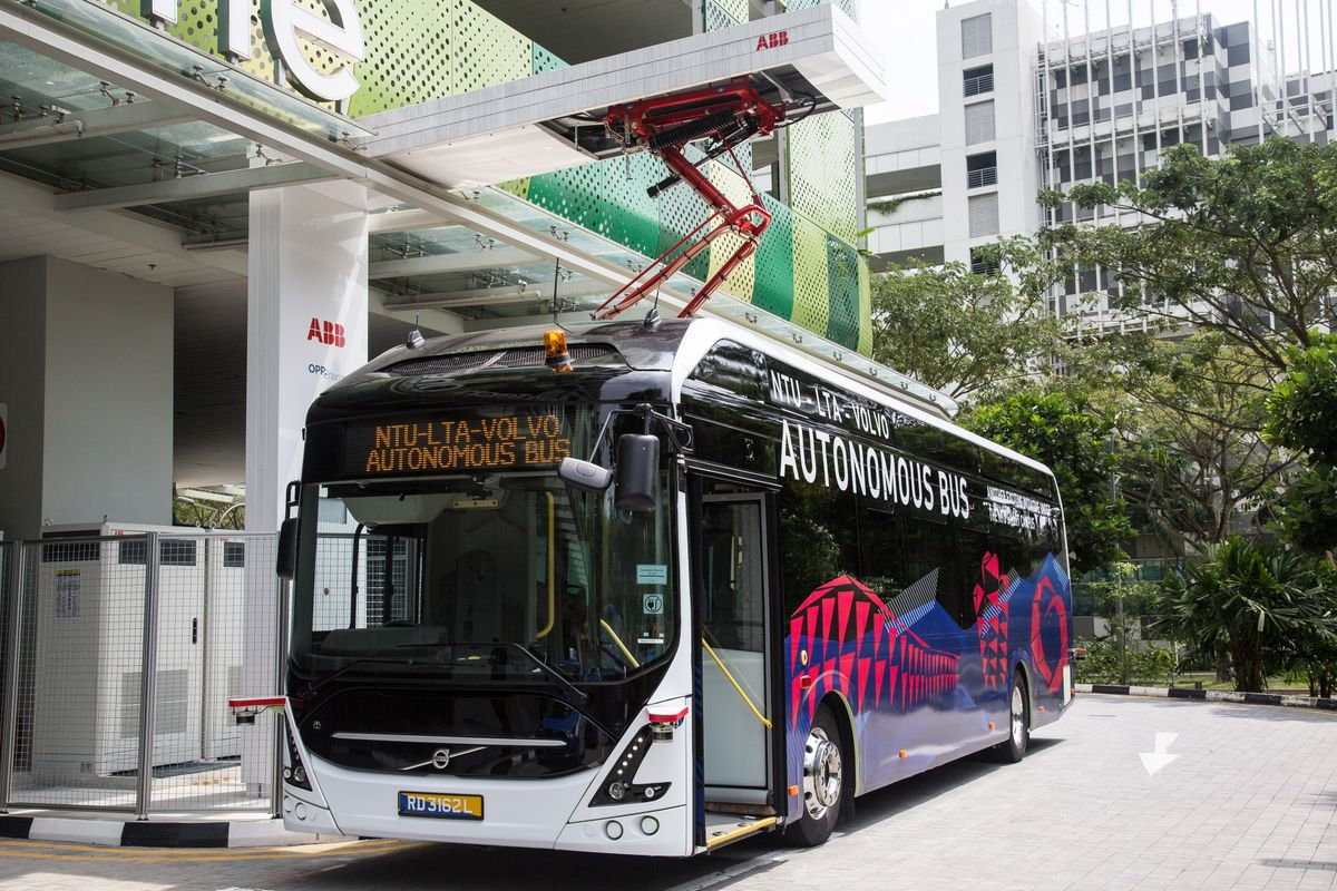 Singapore to Work With Companies to Deploy Driverless Buses
