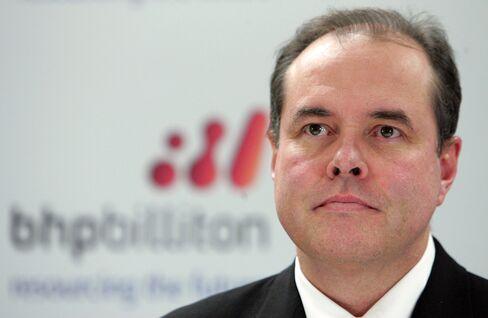 BHP Billiton CFO Alex Vanselow