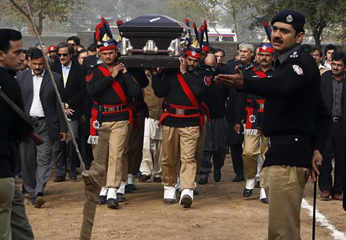 Pakistani Governor Buried Amid Renewed Fear