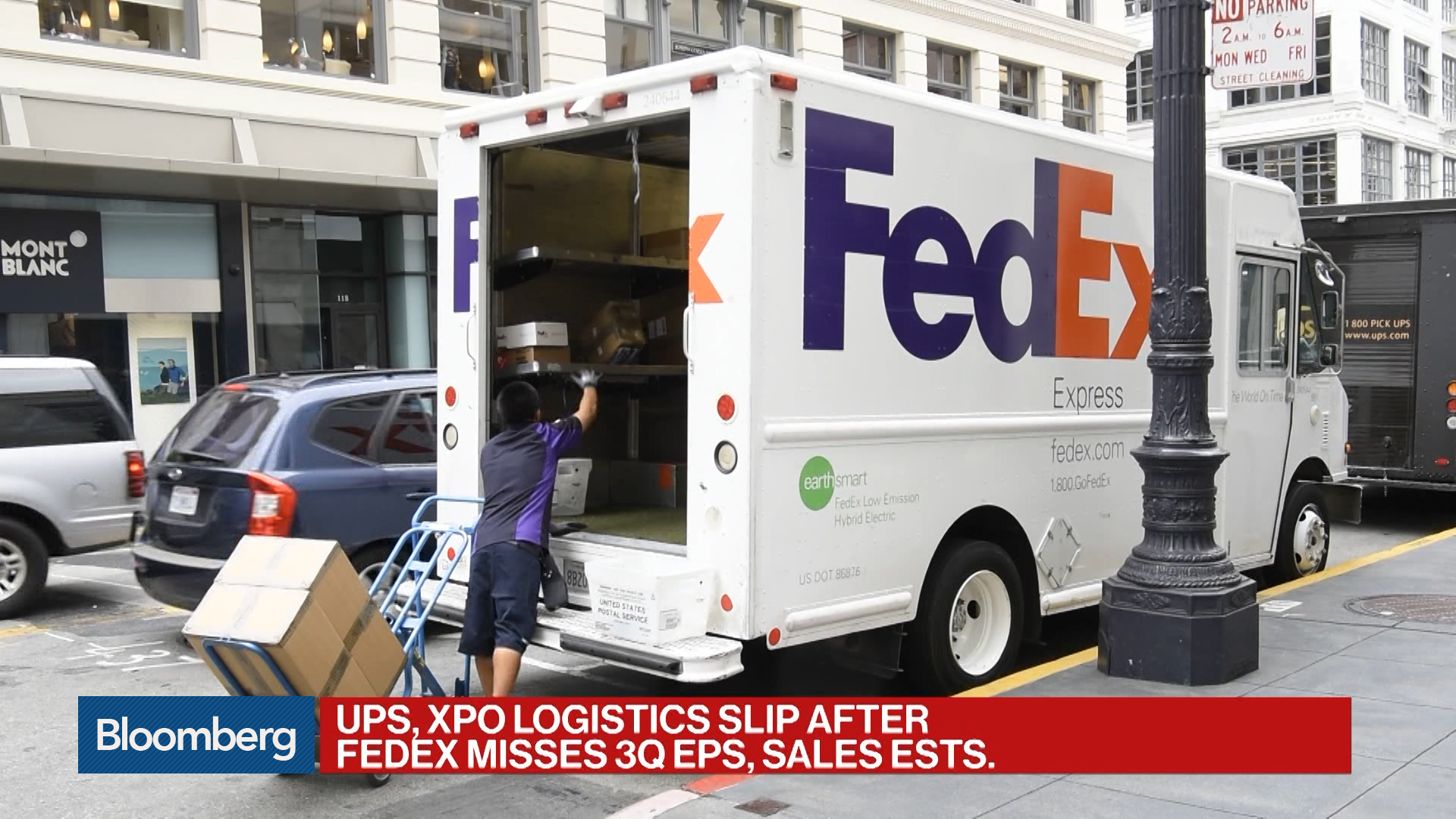Why FedEx Cut Its Profit Forecast Again