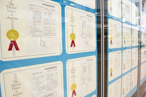 Wall of Steve Jobs's Patents