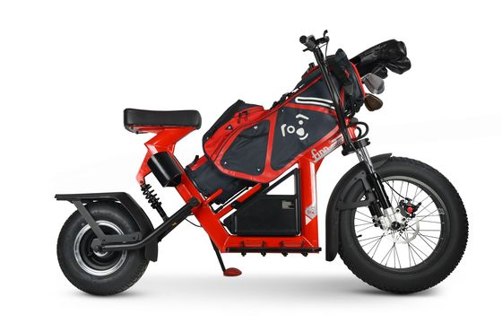 Golf's Slow Pace Challenged by an Electric Bike That Caddies, Too