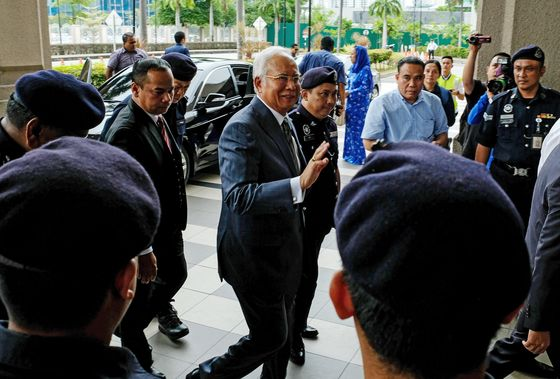 Malaysia Charges Former PM Najib With Three Counts of Money Laundering