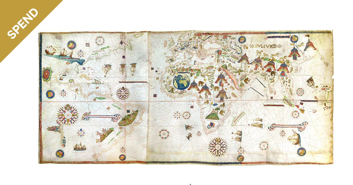 the oldest map of new york is drawn on goat skin costs 10 million bloomberg