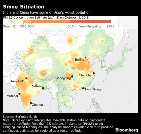 The World's Fastest-Growing Economy Has the World's Most Toxic Air