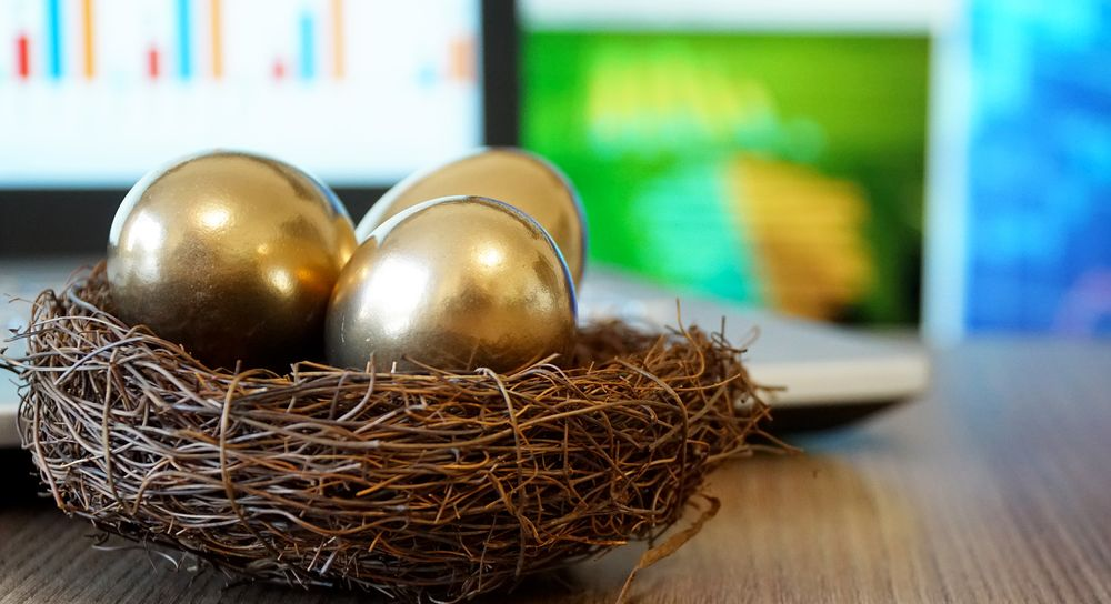 Some nest eggs are more golden than others.