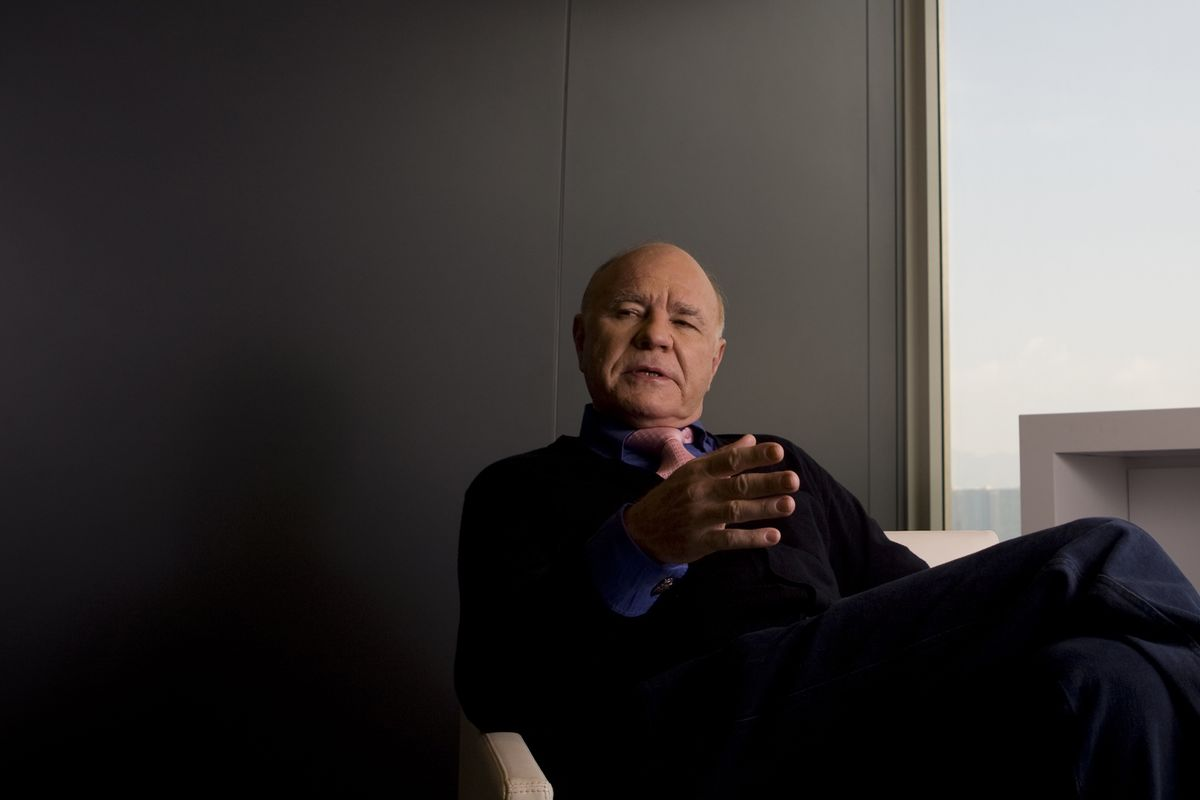 Marc Faber Defended by Conference Organizer After Racist Report