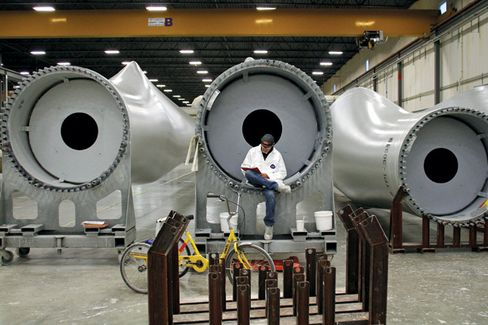 GE Readies for Waning Wind Power