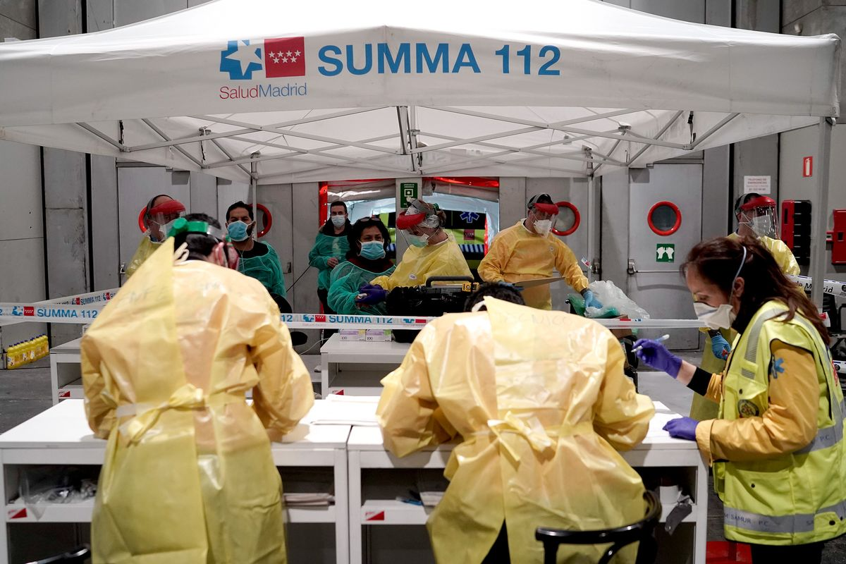 Spanish Doctors Are Forced to Choose Who to Let Die