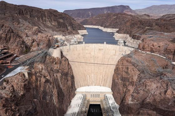 Hoover Dam Reservoir at Lowest Since 1937 as Drought Worsens