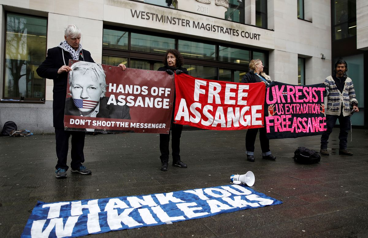 Assange Lawyers Say Trump Offered Pardon If He 'Played Ball'