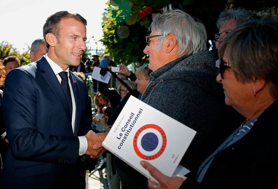 Macron, in Latest Complaint, Says the French Complain Too Much
