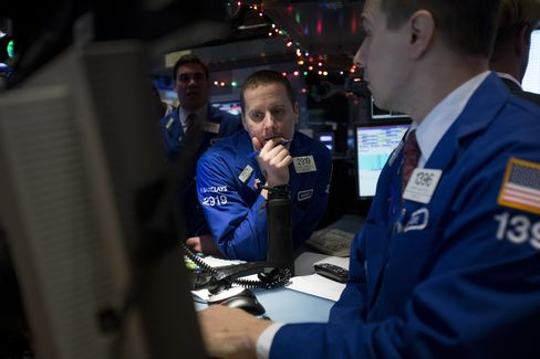 U.S. Stocks Gain on Budget Optimism as Oil Falls on Supply Data
