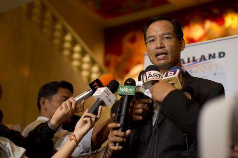 Korn Chatikavanij, Thailand's Minister of Finance