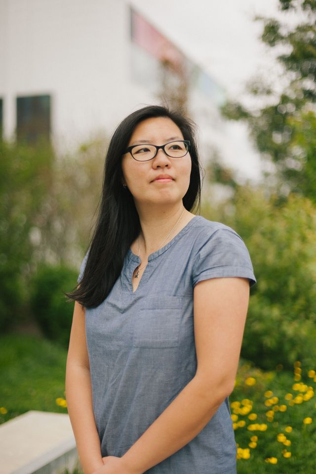 Trixie Ling photographed near Emily Carr University
