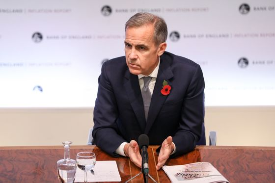 Carney Says No-Deal Brexit Threat to Markets Requires EU Action