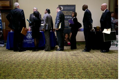Job Gains Probably Restrained in May Amid U.S. Fiscal Cutbacks