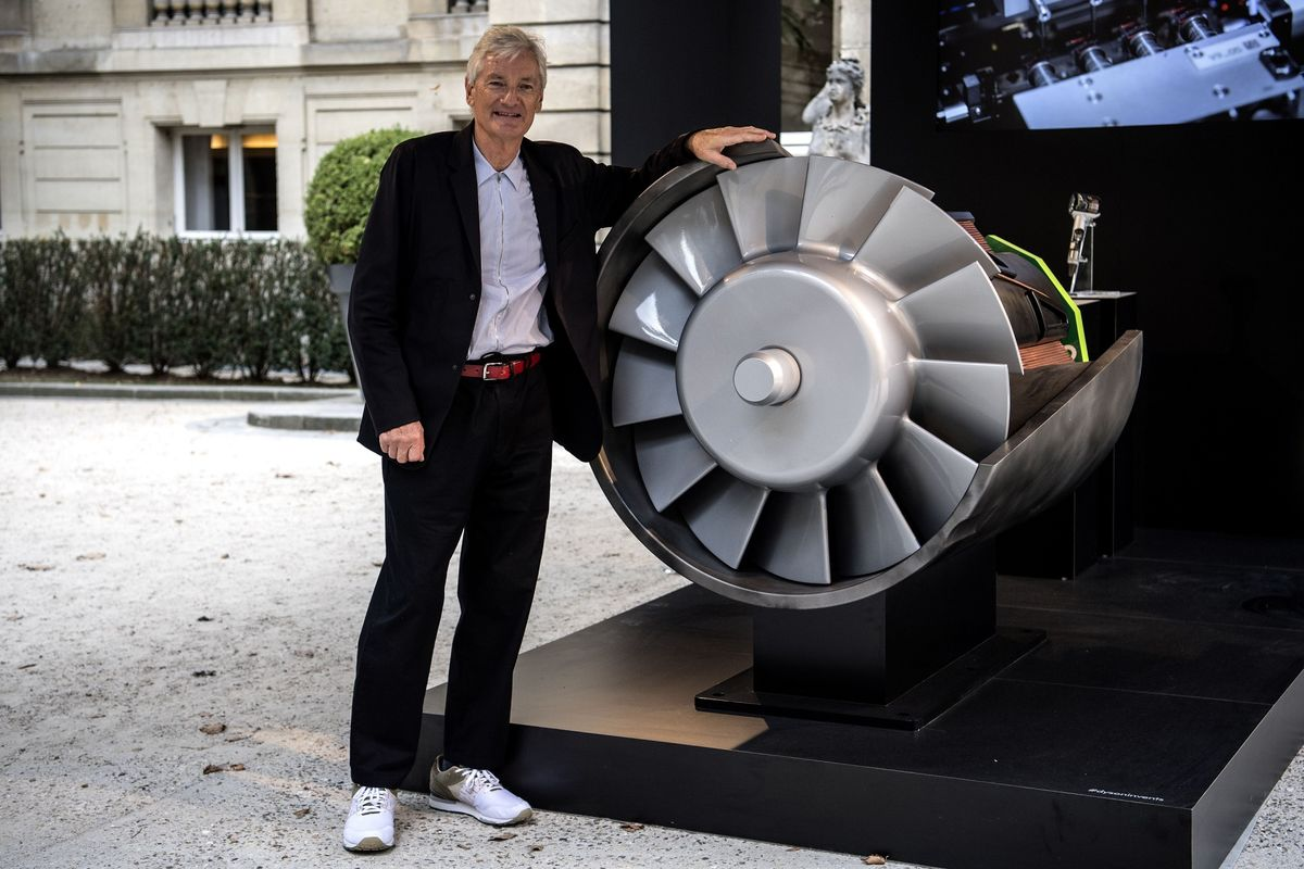 James Dyson Shows It's Too Easy to Make Electric Cars