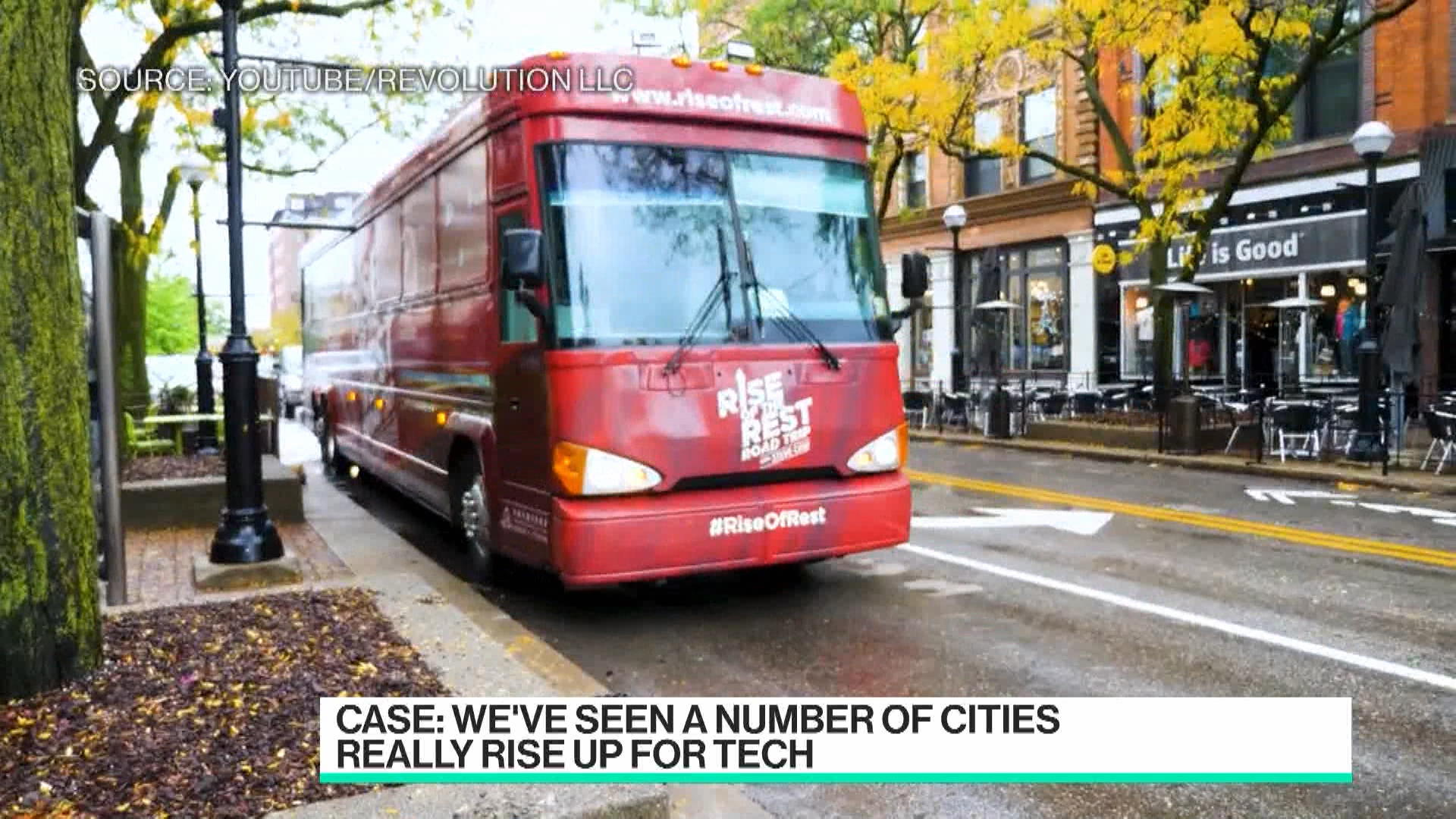 The Next Tech Hubs can be anywhere : Revolution CEO