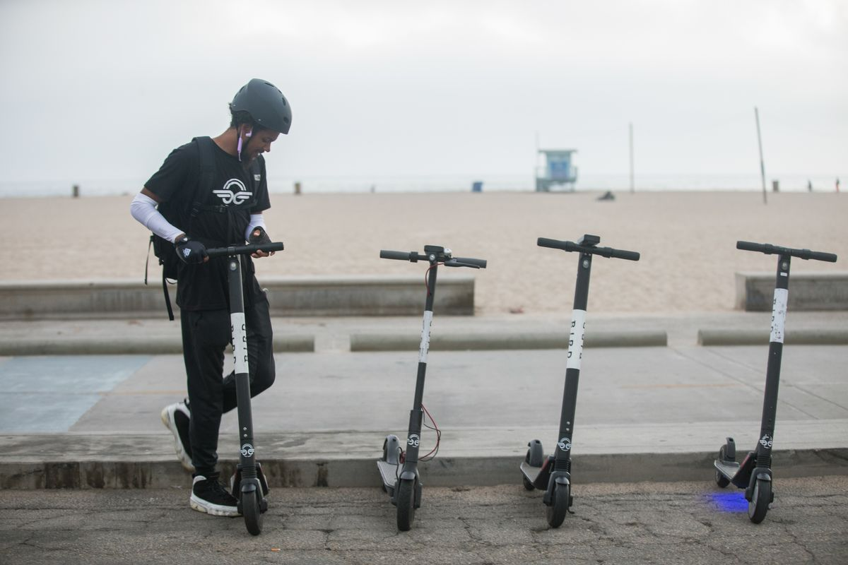 Bird Scooters Spread Across Los Angeles One Year After Launch