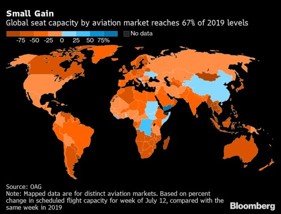 Where Can You Fly Right Now?Vaccine-Driven Comeback Skips the U.K.