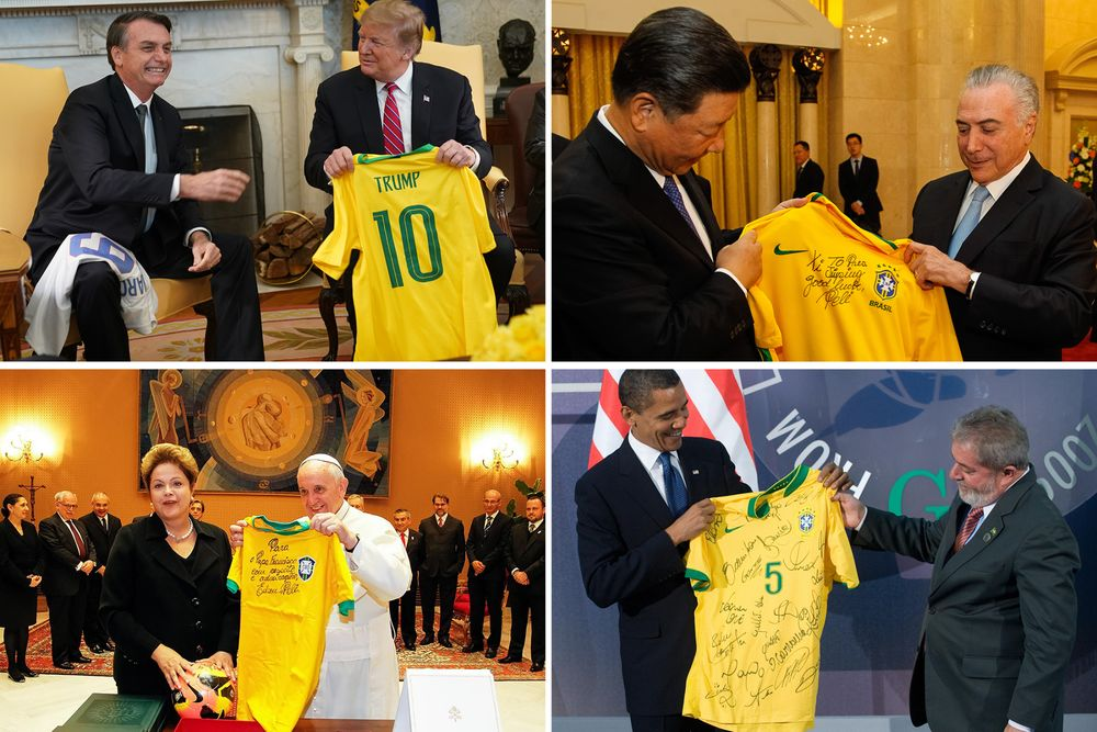 Brazilian Politics Stain the Famous Yellow and Green Jersey