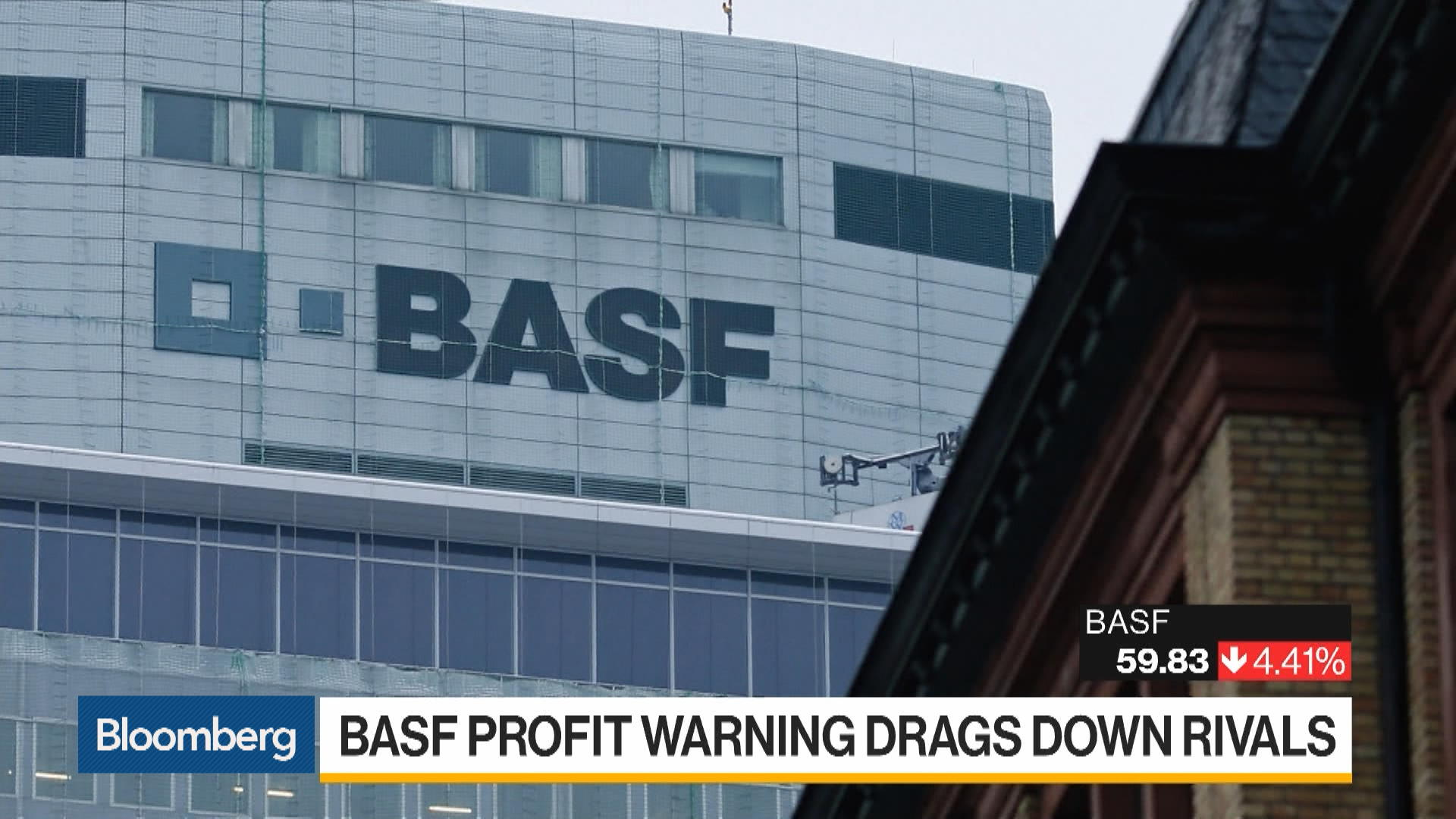 BASF Profit Warning Ripples Through Economy From Cars to