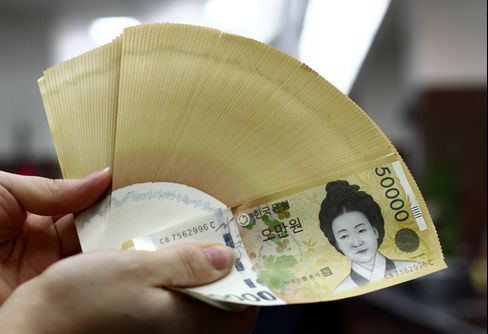 South Korea Further Limits Bank Currency Forwards Amid Won Gains