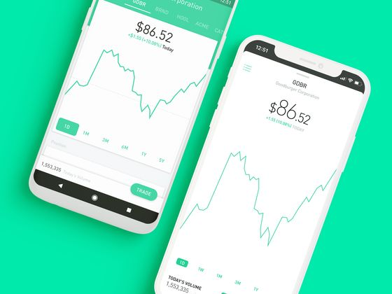 Robinhood's New Traders Ignore Danger Signs to Bet on Stocks