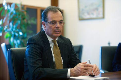 Outgoing Magyar Nemzeti Bank President Andras Simor
