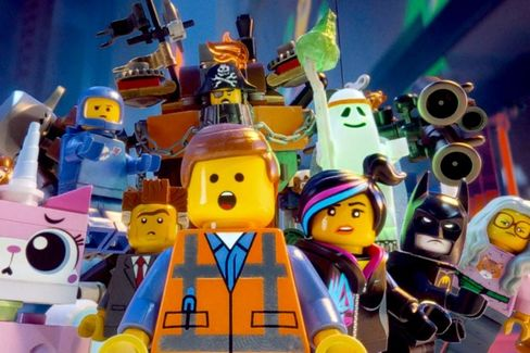 Warner Bros. Plans to Go Loco With Lego