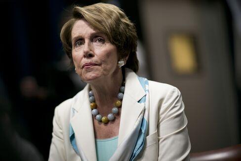 Democratic House Minority Leader from California Nancy Pelosi
