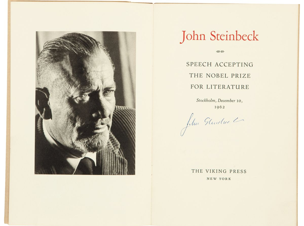 John Steinbeck's Private Letters to Jackie Kennedy Up for Auction