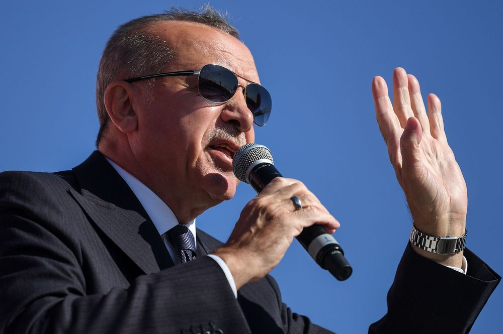 Bankers to Kurds Under Fire as Erdogan Feels Election Heat