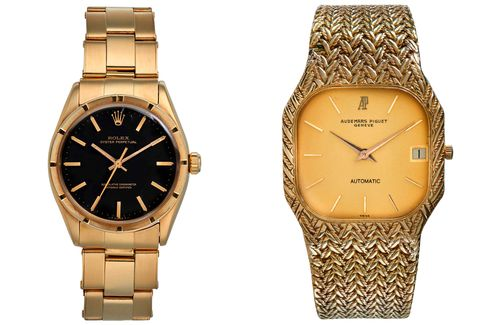 There are a few quality non-Cartier watches in the sale, too.
